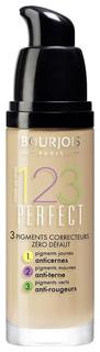 Тональный крем Bourjois 123 Perfect New 53 светло-бежевый