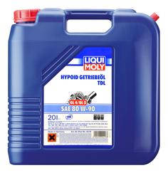 Трансмиссионное масло LIQUI MOLY Hypoid-Getriebeoil 80W90 20л 4218