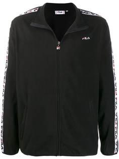 Fila спортивная куртка с полосками на рукавах