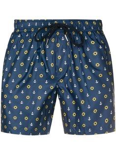 FeFè шорты для плавания на кулиске с принтом