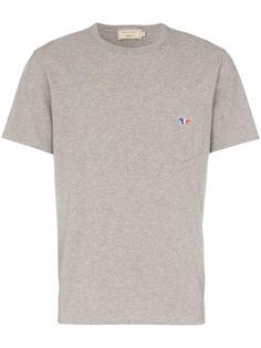 Maison Kitsuné футболка с короткими рукавами и нагрудным карманом