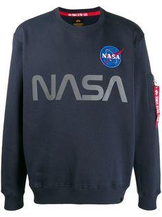 Alpha Industries толстовка NASA со светоотражающим принтом