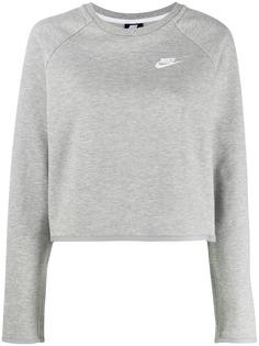 Nike флисовый свитер