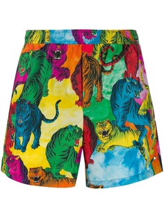 Valentino плавки-шорты с принтом