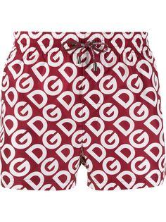 Dolce & Gabbana плавки-шорты с логотипом
