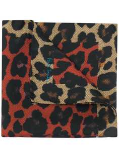 Paul Smith платок с леопардовым принтом