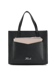 Karl Lagerfeld маленькая сумка-тоут K/Pocket