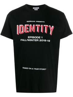 Applecore футболка с принтом Identity
