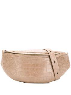 Nanushka объемная поясная сумка