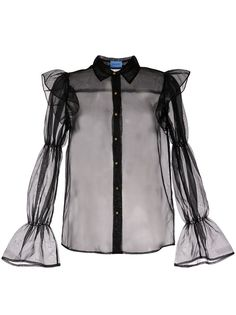Macgraw полупрозрачная блузка Souffle