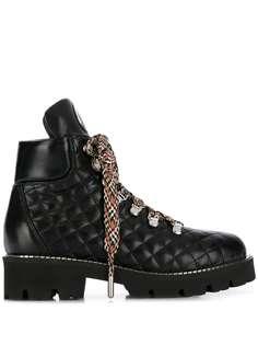 Baldinini стеганые ботинки