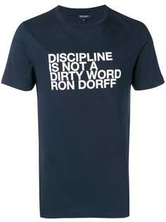 Ron Dorff футболка с принтом Discipline