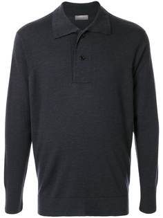 Margaret Howell рубашка-поло с длинными рукавами