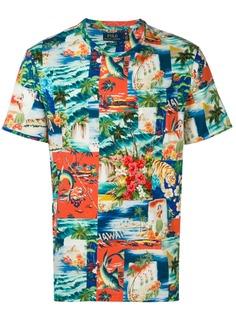 Polo Ralph Lauren футболка с принтом