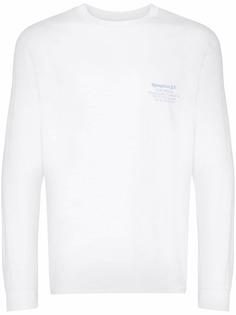 Reception футболка Ciao Bella London с длинными рукавами и графичным принтом