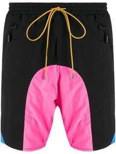 Rhude плавки-шорты с контрастными вставками