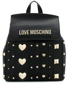 Love Moschino декорированный рюкзак с металлическим логотипом