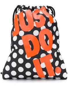 Nike рюкзак на шнурке с логотипом