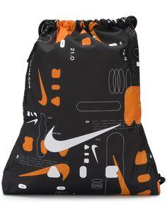 Nike рюкзак Swoosh с логотипом и шнурком