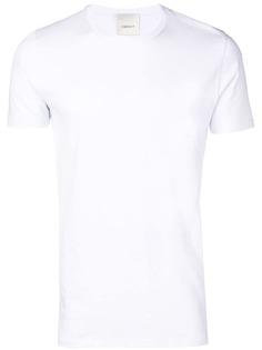 LeQarant приталенная футболка с короткими рукавами