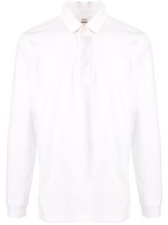 Kent & Curwen рубашка-поло с длинными рукавами и логотипом