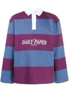 Daily Paper рубашка-поло оверсайз Golo в полоску
