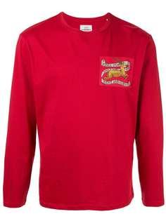 Kent & Curwen футболка с длинными рукавами и логотипом