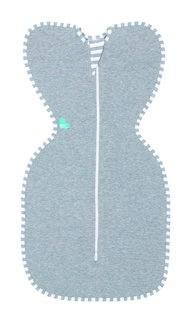 Пеленка-кокон LoveToDream Original, размер S, цвет: серый