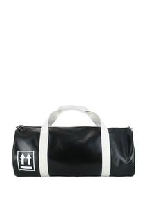 Черная дорожная сумка Off White