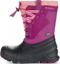 Ботинки утепленные для девочек Merrell M-Snoqstlite 2.0, размер 34,5
