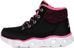 Ботинки утепленные для девочек Skechers Galaxy Lights-Snuggle Brights, размер 31