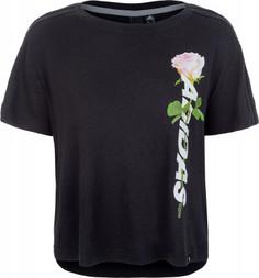 Футболка женская Adidas Floral Essential, размер 42-44