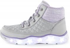 Ботинки утепленные для девочек Skechers Galaxy Lights-Snuggle Brights, размер 34