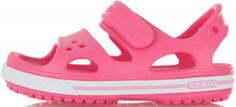 Сандалии для девочек Crocs Crocband II, размер 23