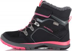 Ботинки утепленные для девочек Merrell M-Moab Fst Polar Mid A/C Wtrpf, размер 30