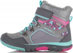 Ботинки утепленные для девочек Merrell Moab Fst Polar, размер 28,5