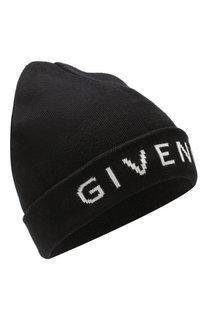 Шапка из смеси хлопка и кашемира Givenchy