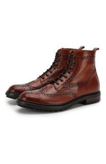 Кожаные ботинки Pantanetti