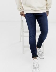 Темно-синие джинсы скинни G-Star-Темно-синий