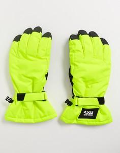 Перчатки ASOS 4505-Желтый
