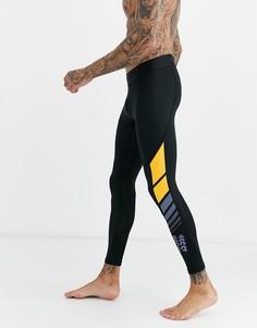 Черные леггинсы adidas Training-Черный