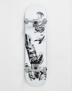 Скейтборд Globe Hard Luck - 8 дюймов-Серый