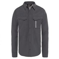 Рубашка The North Face L/S Sequoia мужская серая XXL