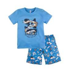 Пижама Тату Bossa Nova, цв. голубой, 128 р-р