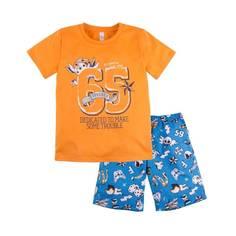 Пижама Тату Bossa Nova, цв. оранжевый, 128 р-р