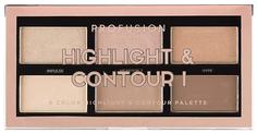 Набор для макияжа PROFUSION Highlight & Contour I Palette