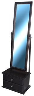 Зеркало настенное Селена венге Мебелик