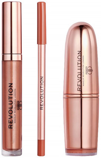 Набор для макияжа Makeup Revolution Dana X Revolution Lipstick Kit
