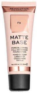 Тональный крем Makeup Revolution Matte Base Foundation F9