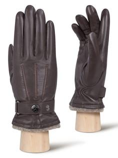 Перчатки мужские Eleganzza IS980 коричневые 8.5